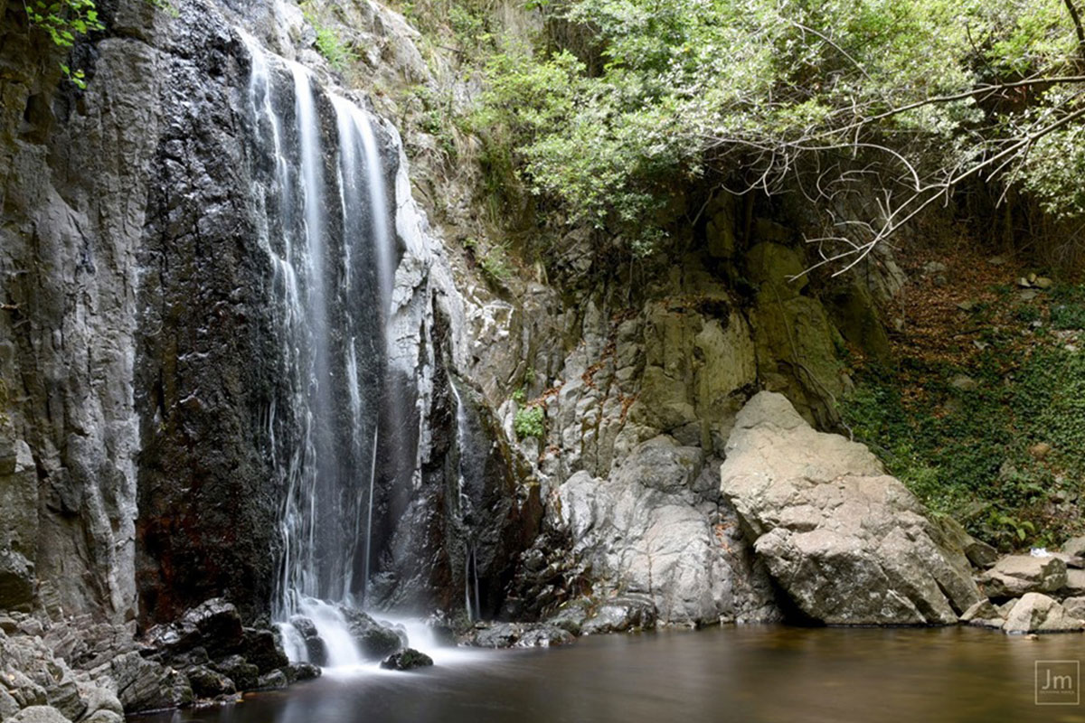 Le cascate di Sos Molinos Antica Dimora del Gruccione