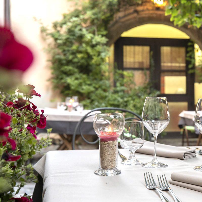 The Restaurant Antica Dimora del Gruccione