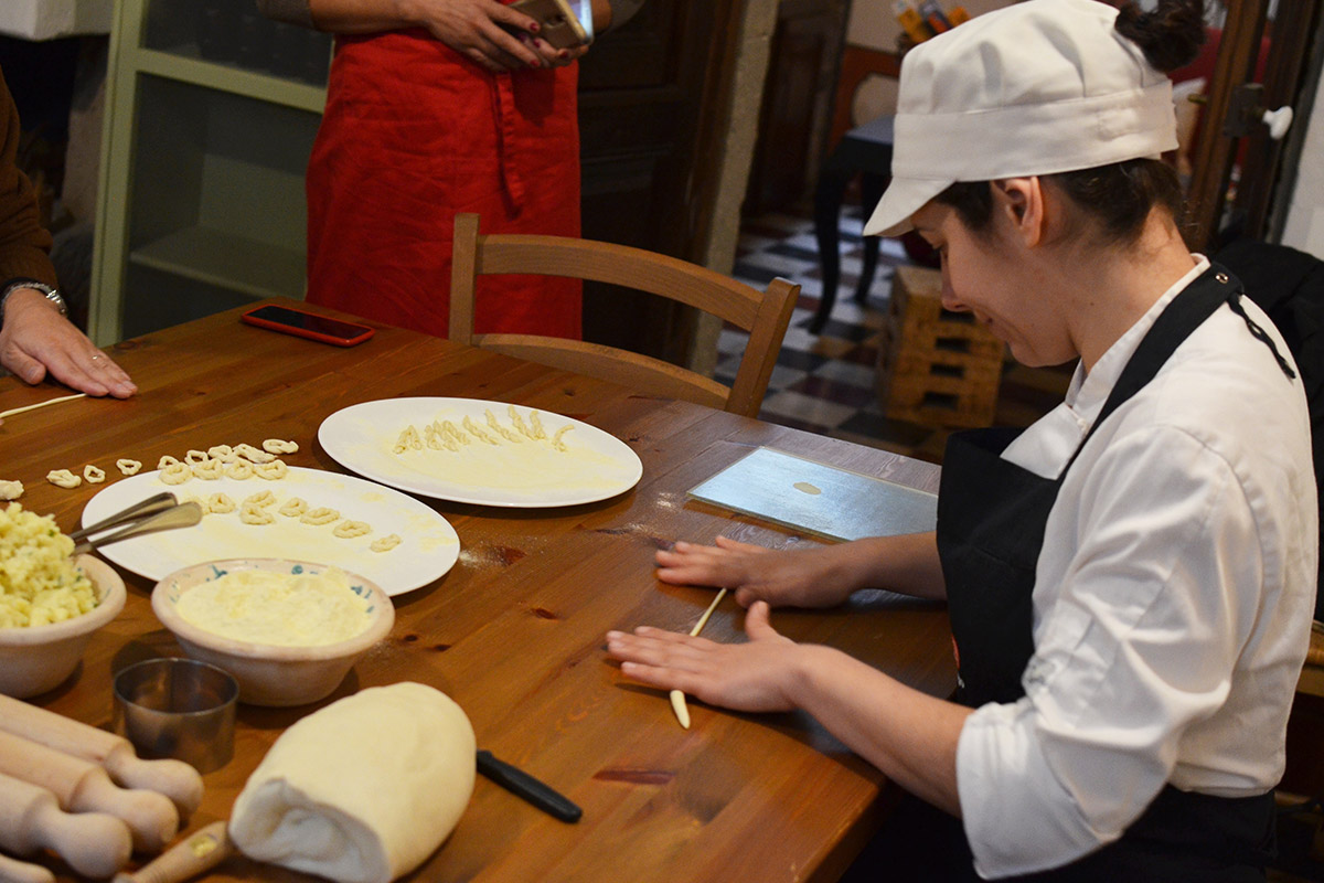 The Tradition of Pasta Antica Dimora del Gruccione